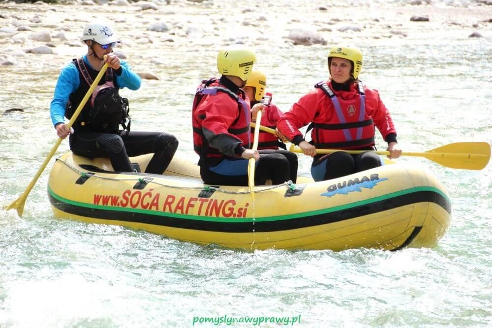 Słowenia rafting Soca