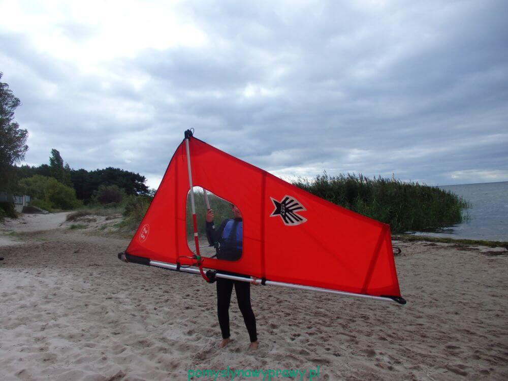 Bałtyk Hel windsurfing