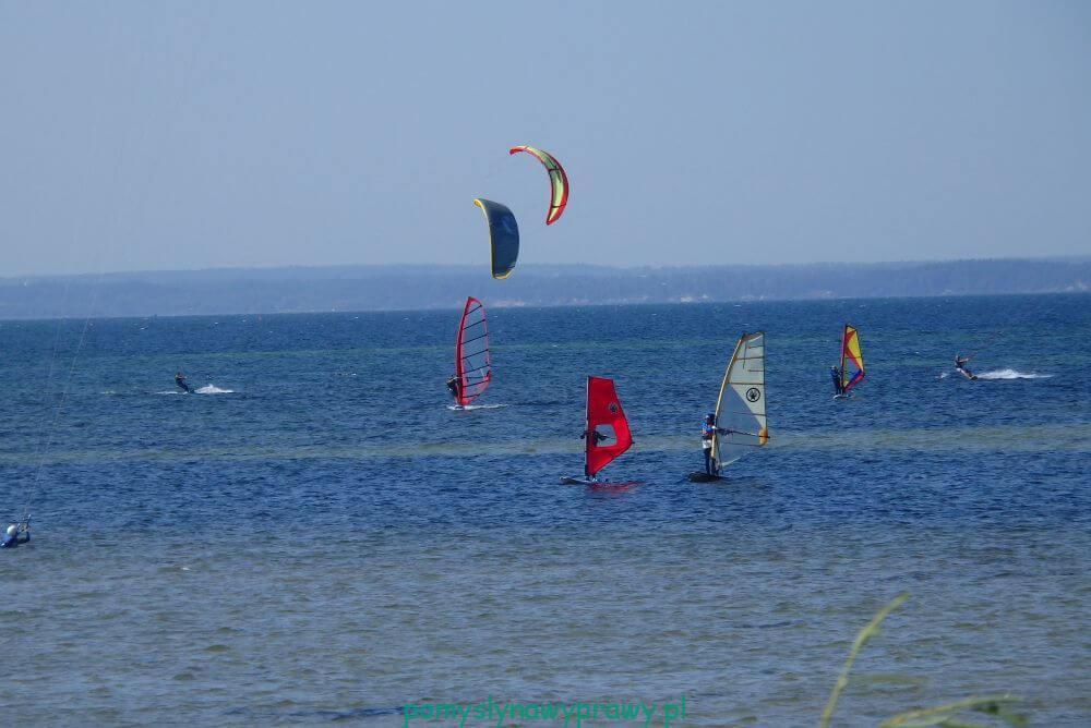 Bałtyk Hel windsurfing kitesurfing