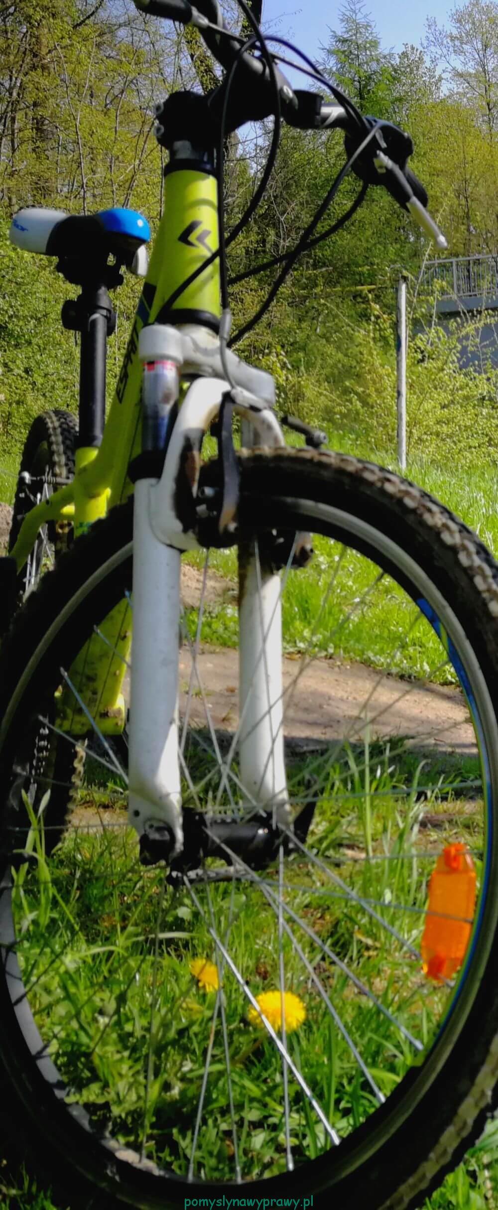 rower ścieżka rowerowa