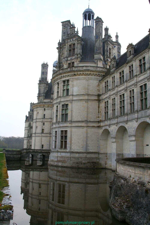 Francja Zamki nad Loarą Chambord