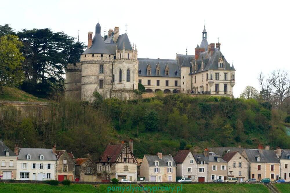Francja Zamki nad Loarą Chaumont