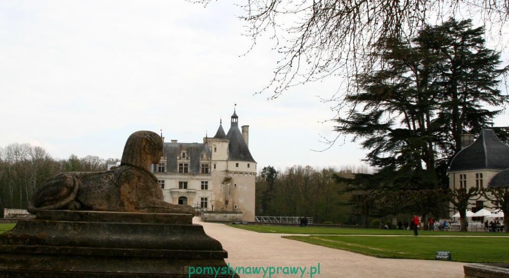Francja Zamki nad Loarą Chenonceau