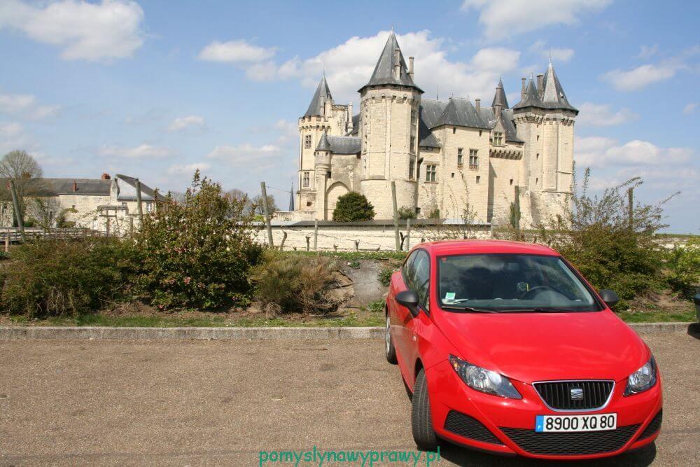 Francja Zamki nad Loarą Saumur
