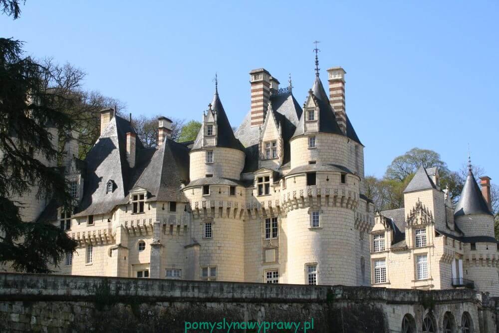 Francja Zamki nad Loarą Usse
