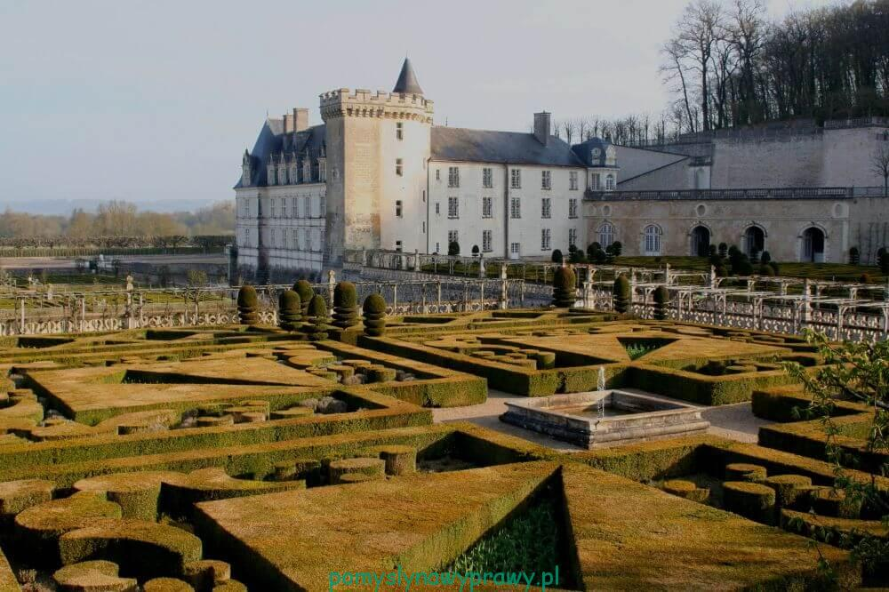 Francja Zamki nad Loarą Villandry