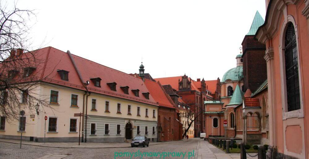 Zamki Dolnego Śląska Wrocław Ostrów Tumski