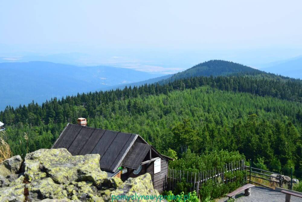 wysoki kamień góry izerskie karkonosze