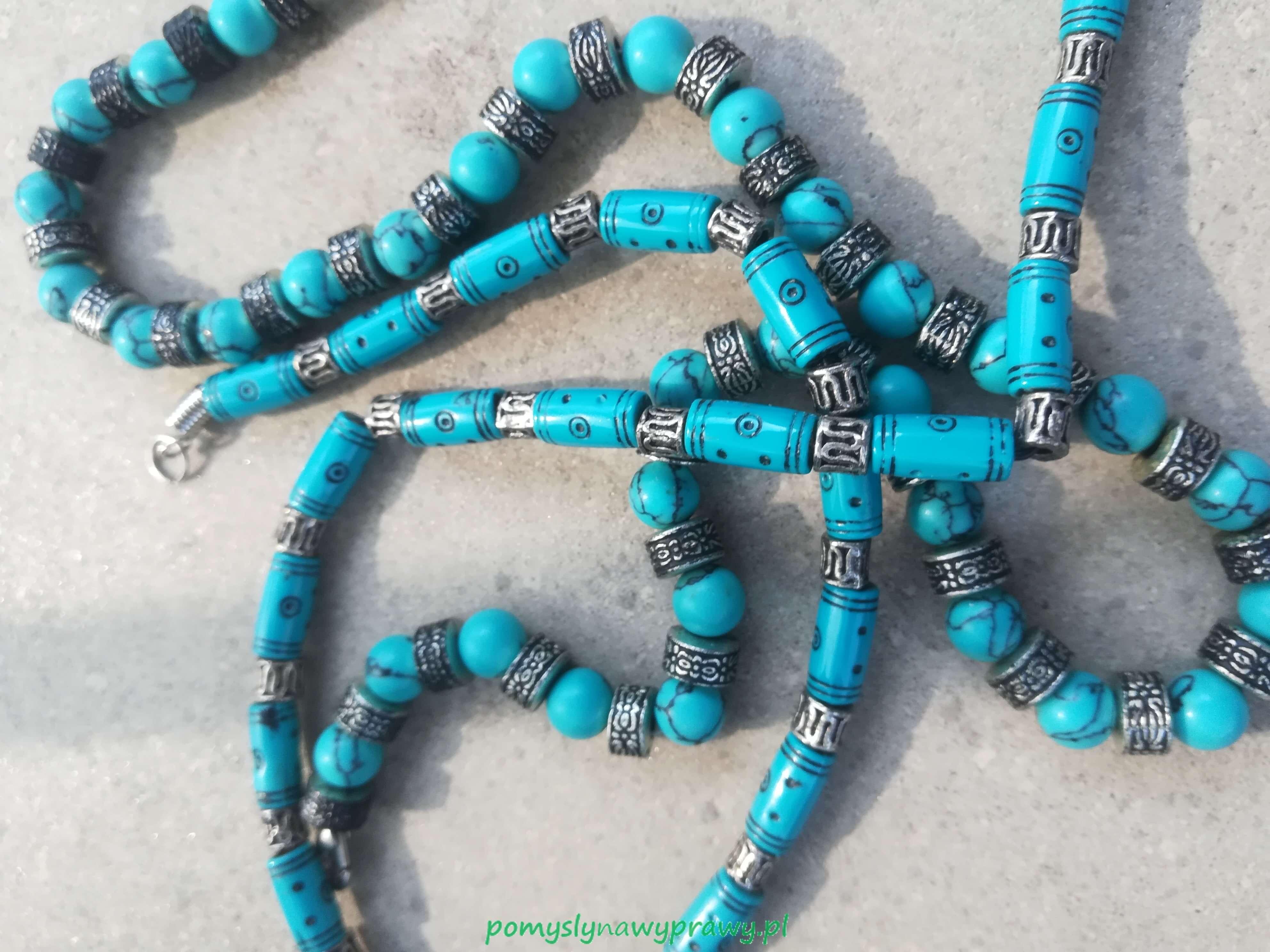 Dominikana biżuteria z larimaru