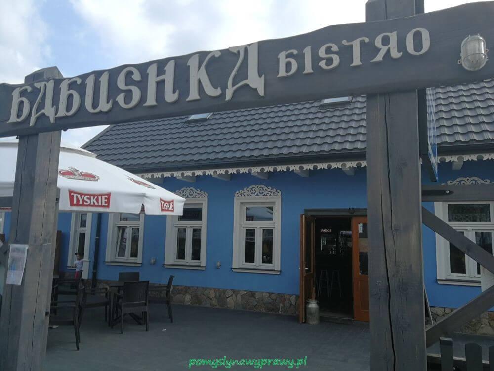 Białowieża bistro Babusha