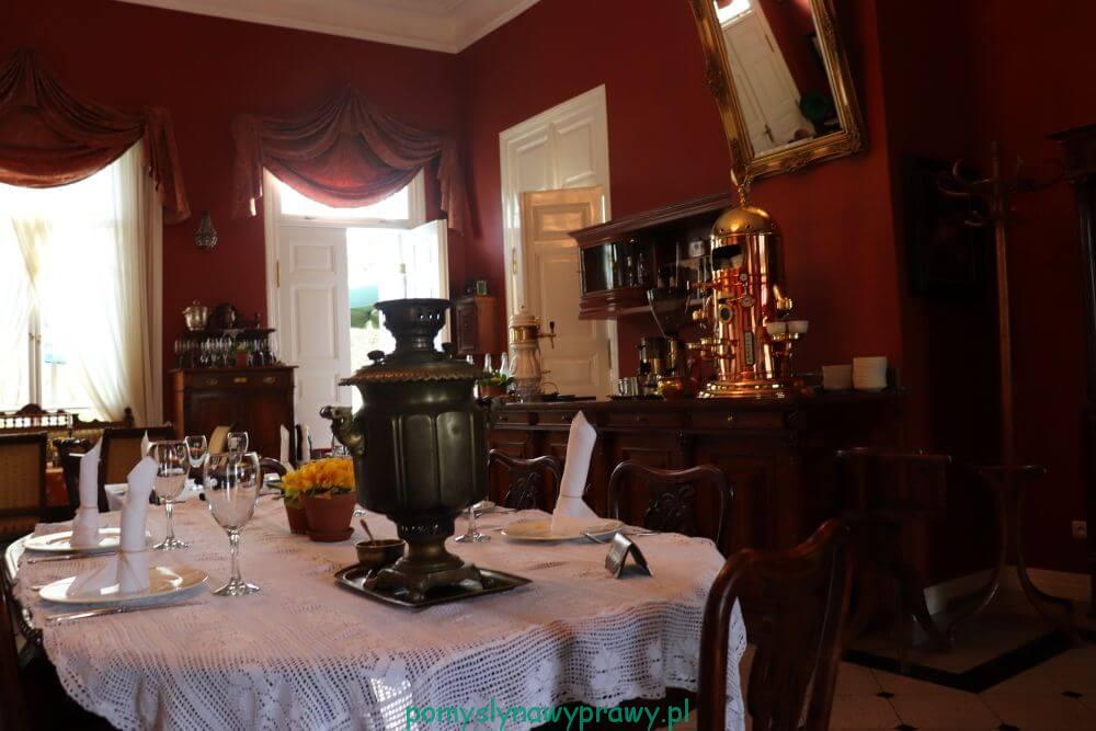 Podlasie Białowieża Towarowa restauracja Carska