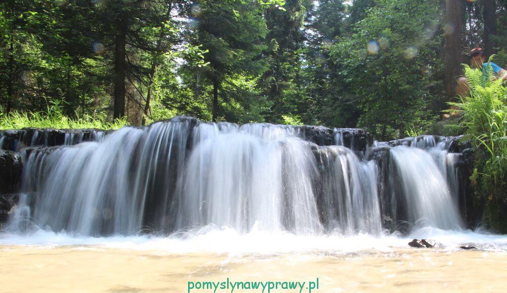 Roztocze Wodospad Jeleń