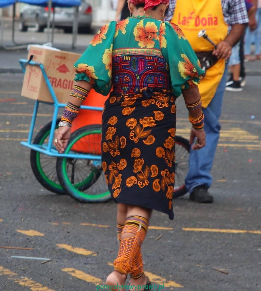 Panama Indianka Kuna