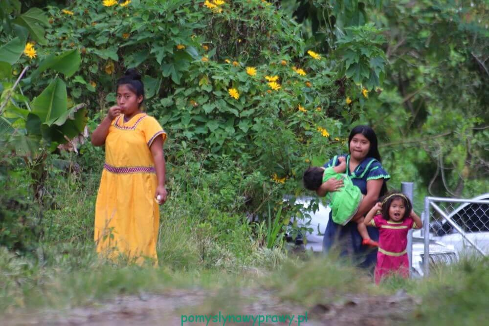 Panama Indianki Ngobe
