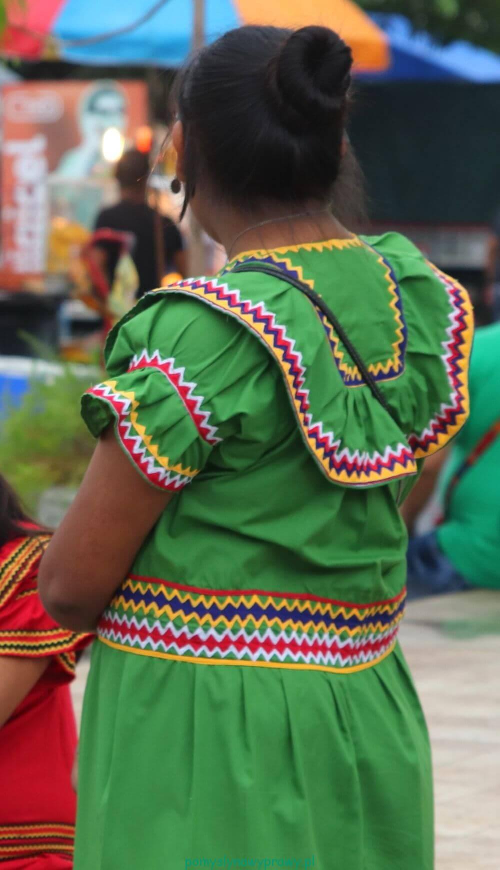 Panama Indianka Ngobe