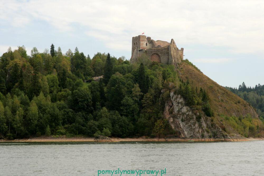 Pieniny Czorsztyn zamek