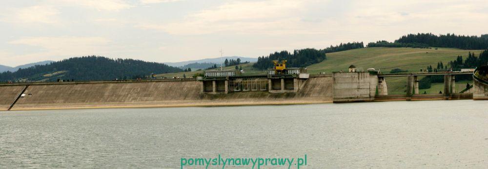 Pieniny Niedzica tama Jezioro Czorsztyńskie Dunajec