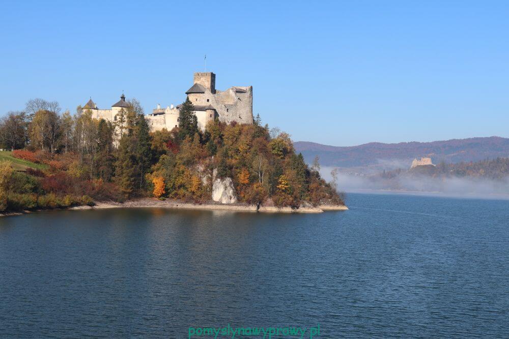 Pieniny zamek w Niedzicy Czorsztyn Jezioro Czorsztyńskie