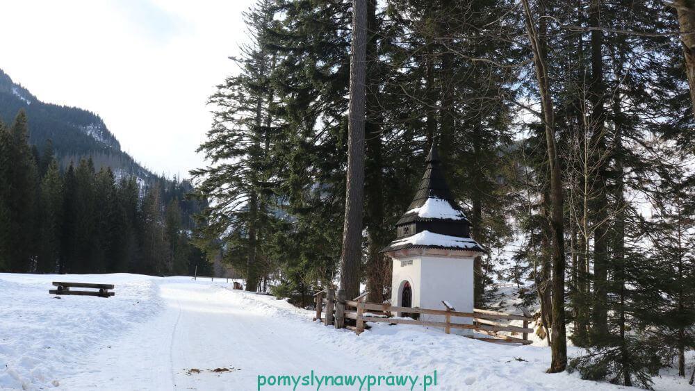 kapliczka górnicza Dolina Kościeliska Tatry Zachodnie