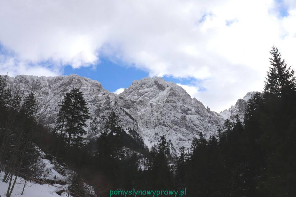 Giewont zima Tatry