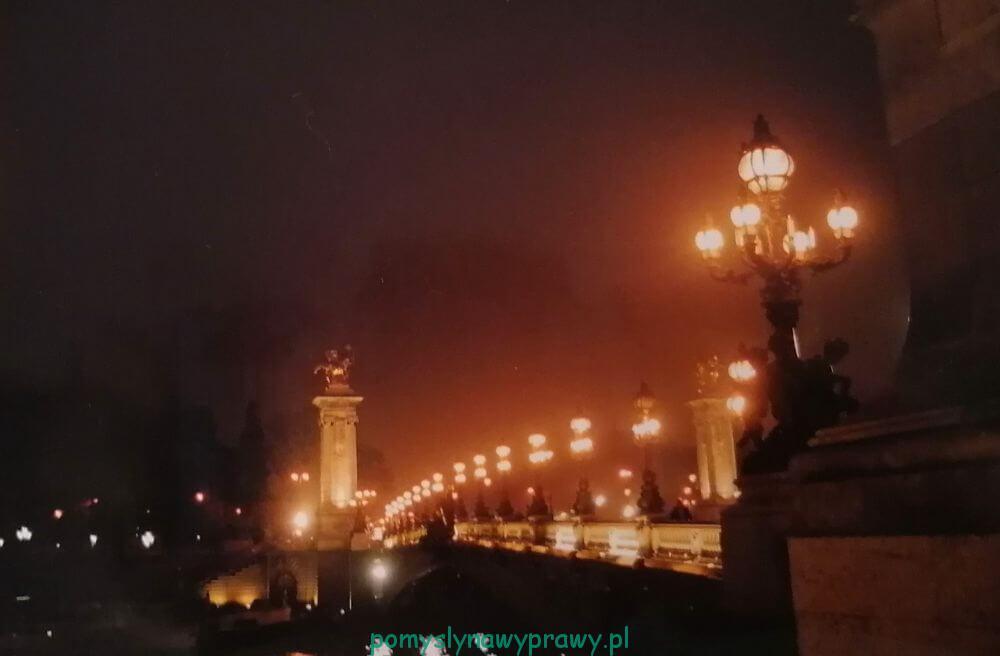 Paryż Most Aleksandra III