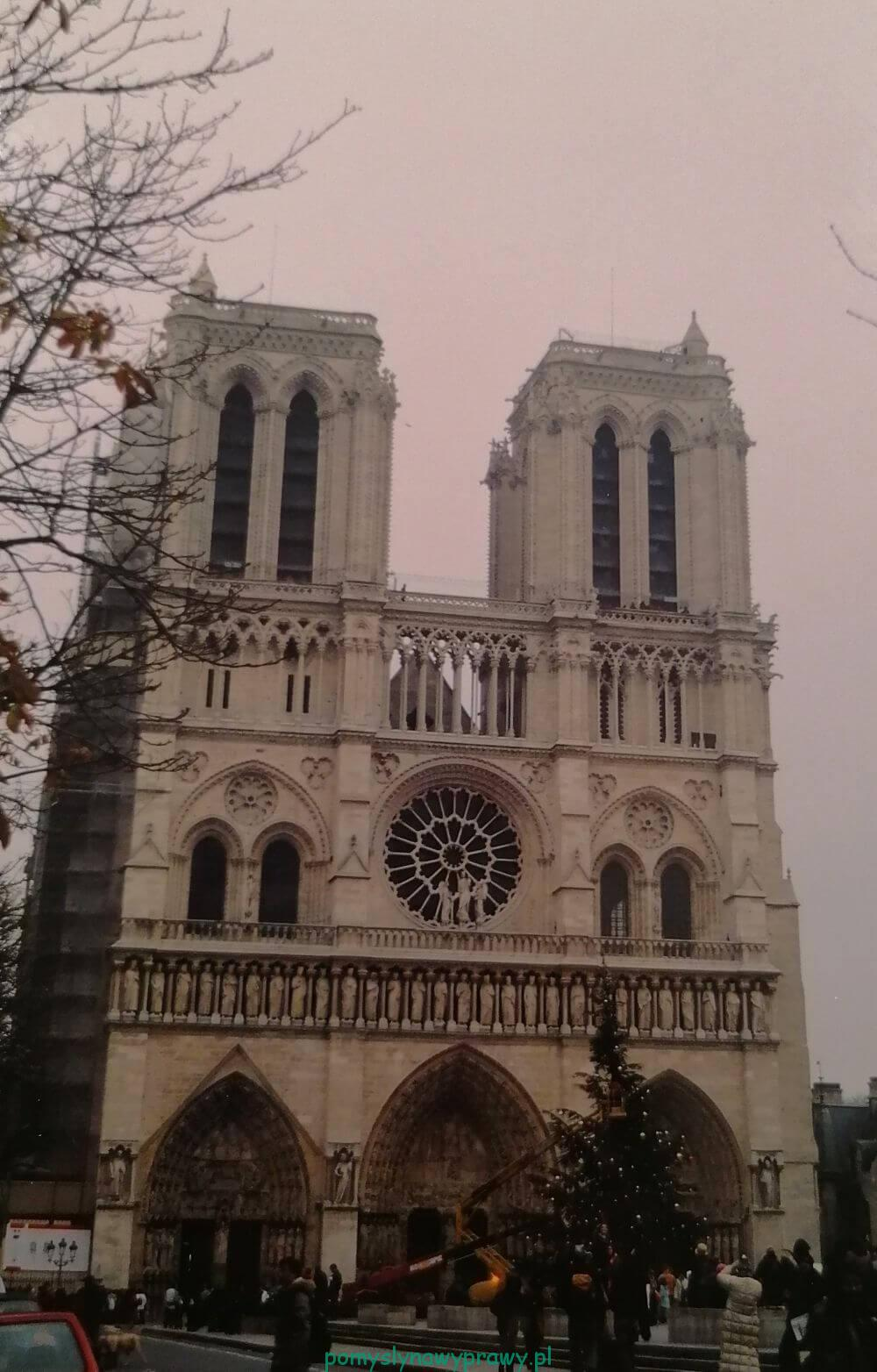 Paryż Notre Dame