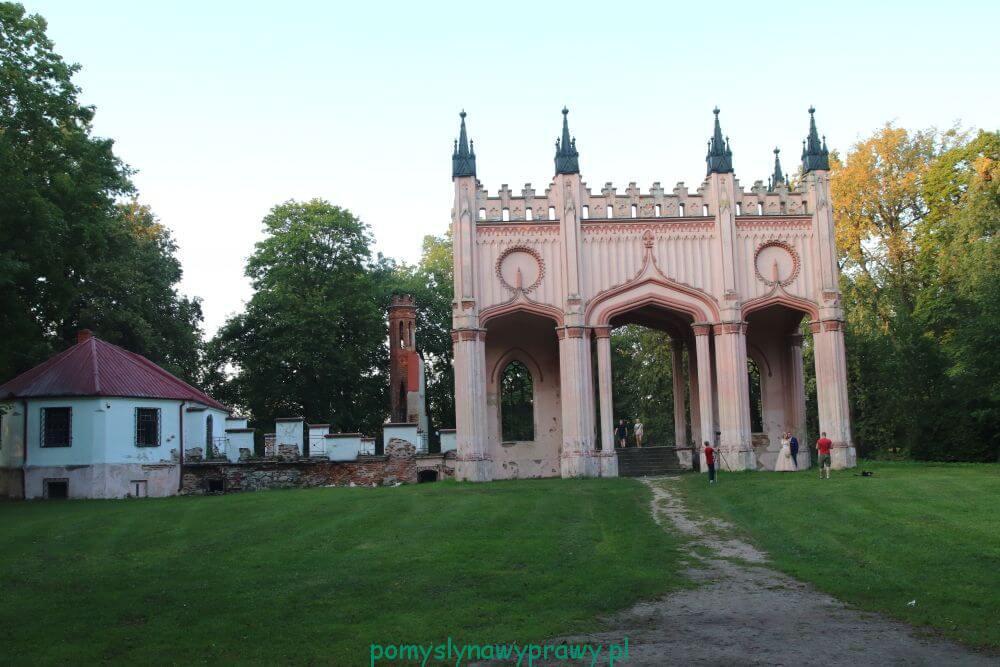Dowspuda Pałac Paca