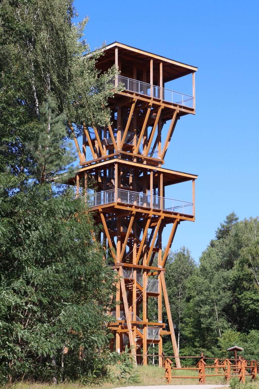 Geopark Łuk Mużakowa wieża widokowa