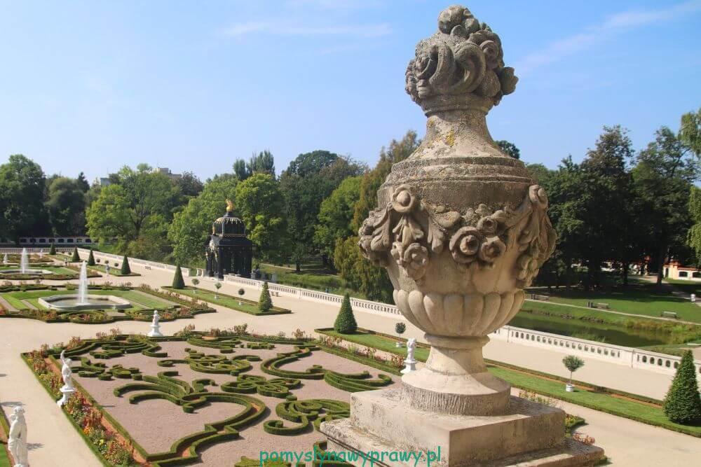 ogród barokowy w Pałacu Branickich