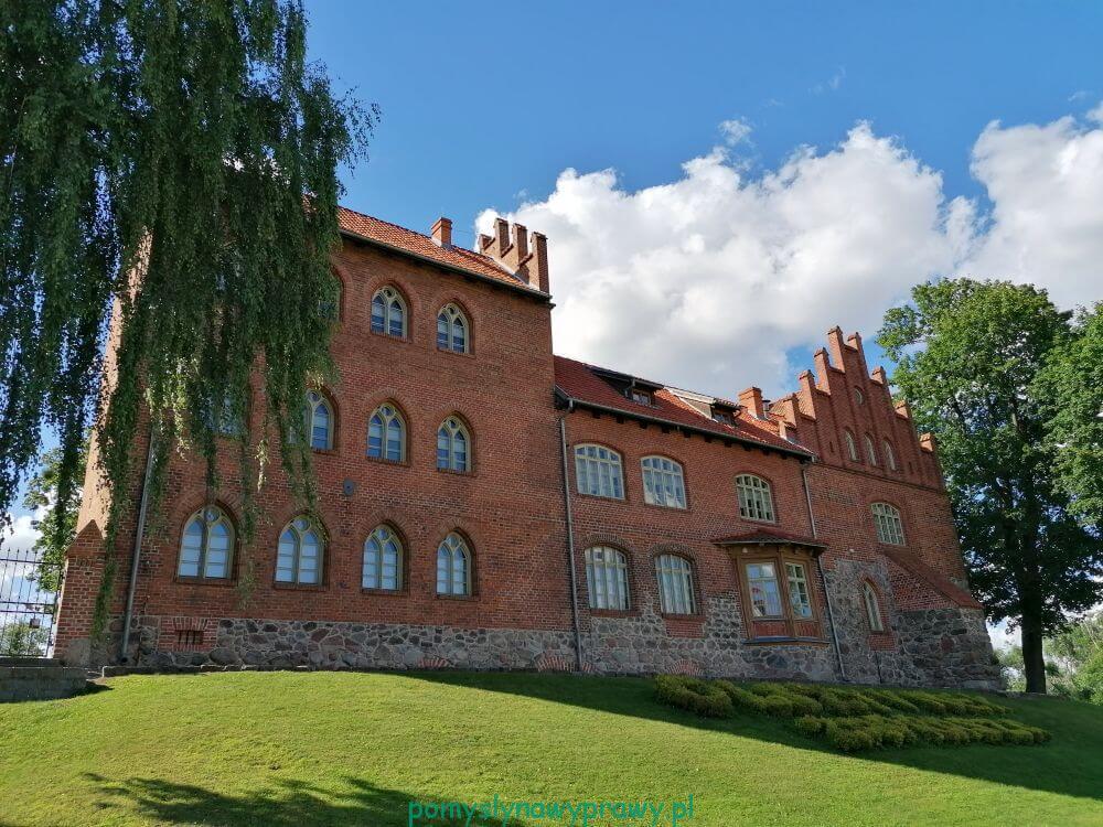 zamek krzyżacki w Olsztynku