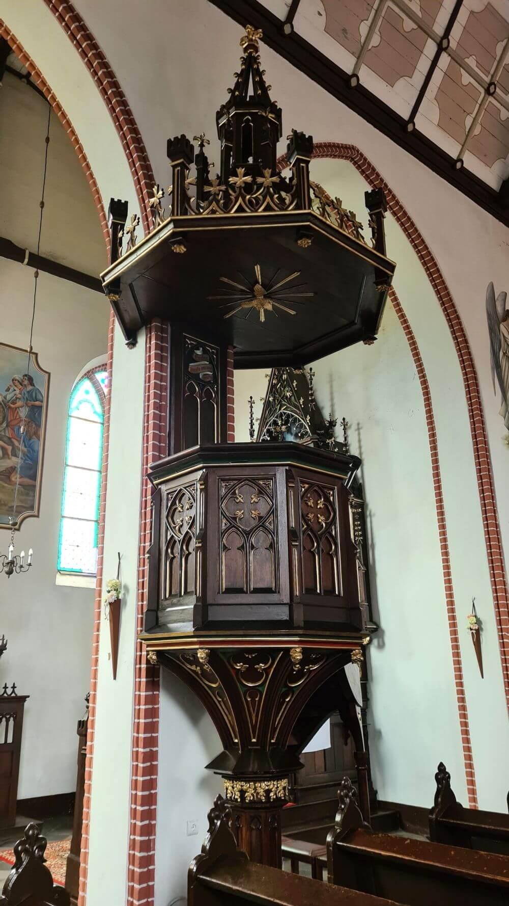 Pasym gotycki kościół ewangielicko-augsburski