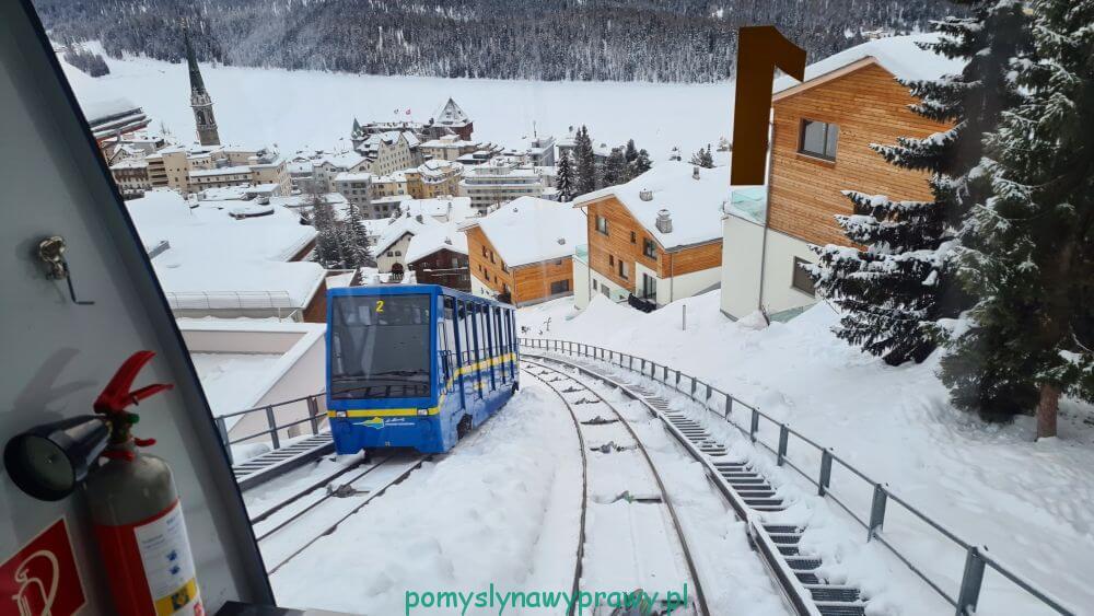 Corviglia train