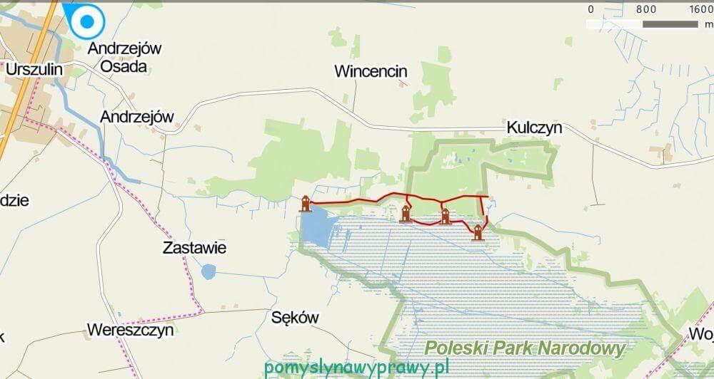 czahary mapa