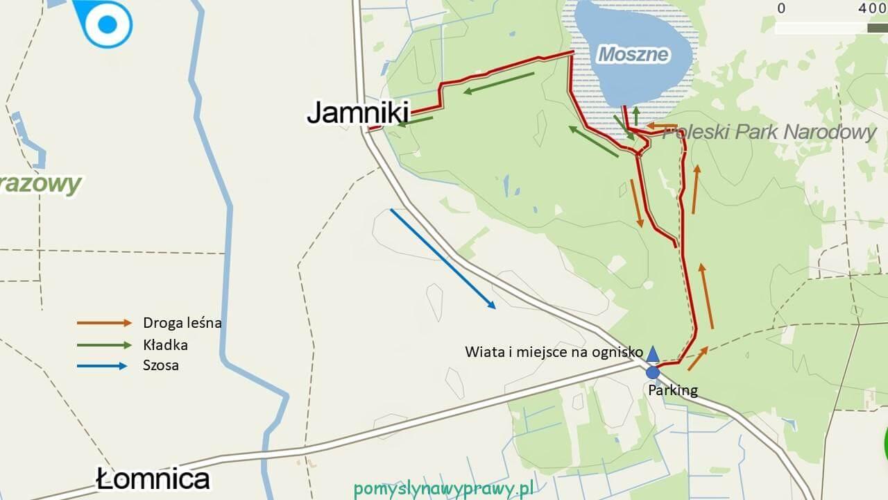mapa Dąb Dominik