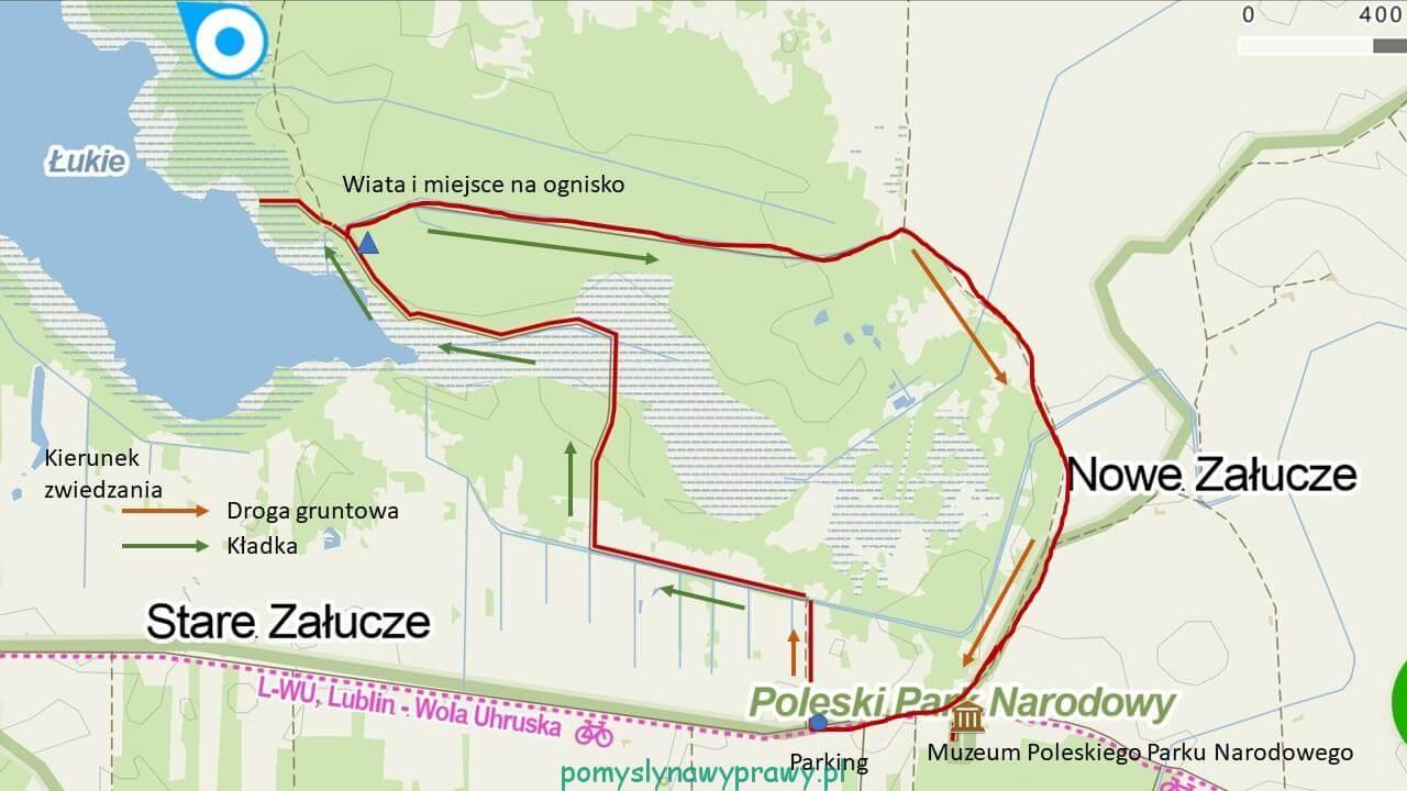 Spławy mapa
