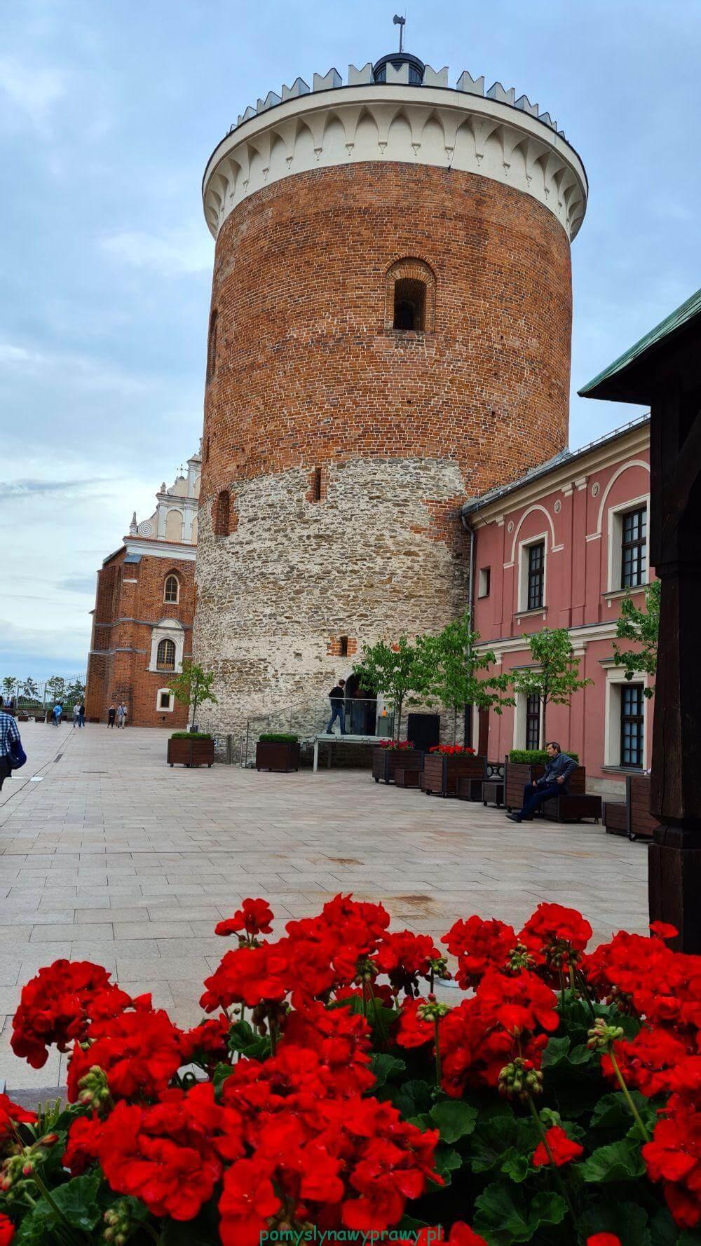 wieża zamkowa (donżon)